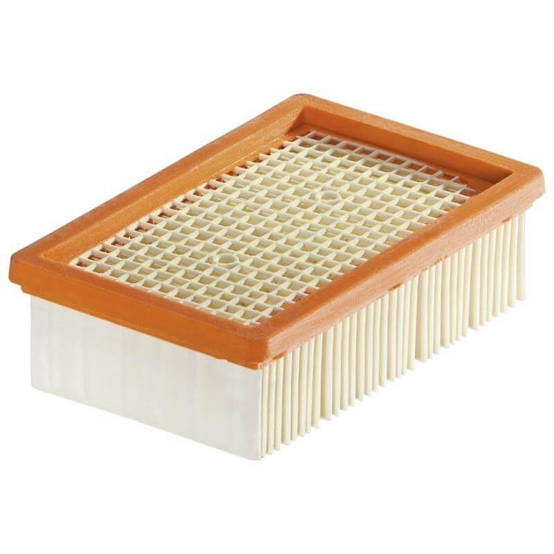 Фильтр плоский складчатый для пылесоса Karcher WD3, MV3, MV4, WD5, 2.863-005.0