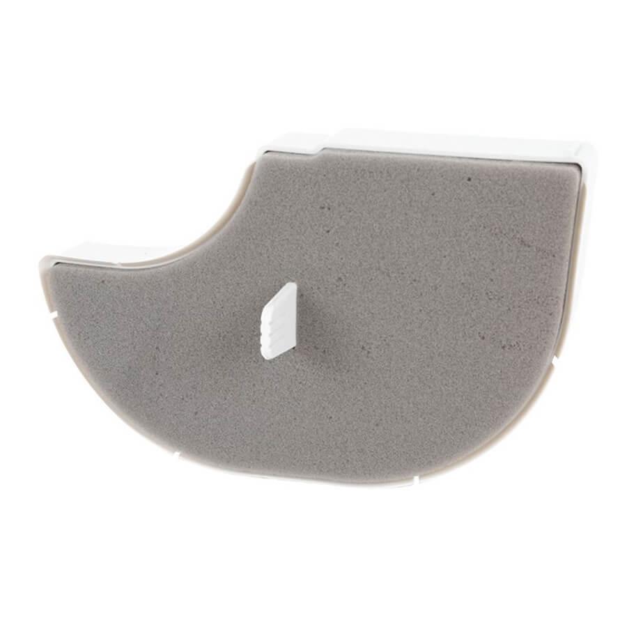 Фильтр поролоновый Sandwich для пылесоса Bosch BGS3, BGS4, GS40,  чёрный