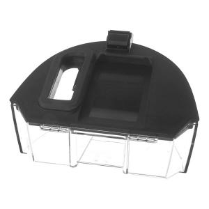 Контейнер сбора пыли с крышкой и ручкой для пылесоса Bosch GS40, черный/прозрачный