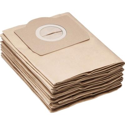 Бумажные Фильтр-мешки для пылесосов Karcher серии A, SE, WD, MV, 6.959-130.0 (6.959-130), 5 шт.