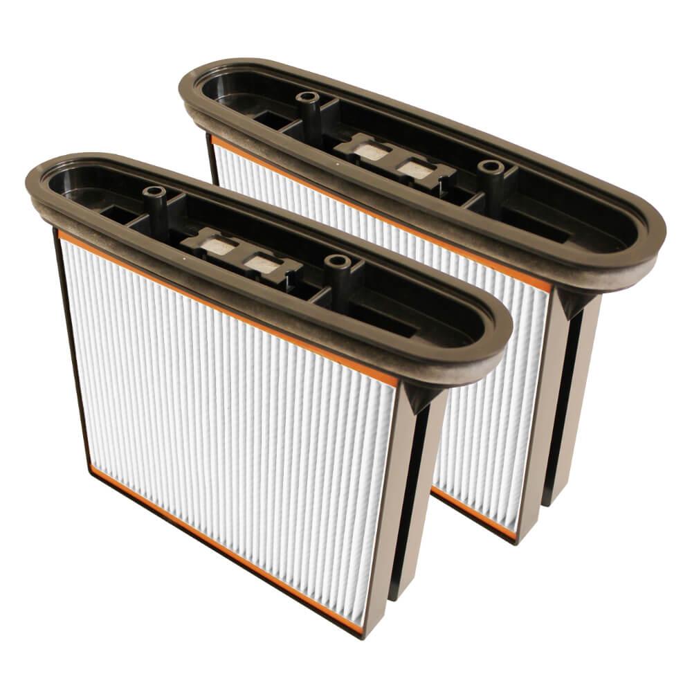 Фильтр складчатый из полиэстера (2 шт.) для пылесосов Bosch GAS 25/50, 2607432017