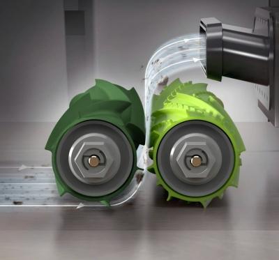 Комплект валиков-скребков для iRobot Roomba e5, e6, i7, i7+ серий, 4624870